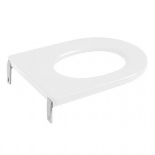 Roca Happening Infant Soft Close Toilet Seat - White